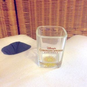 Disney Coronado Springs resort shot glass NWOT